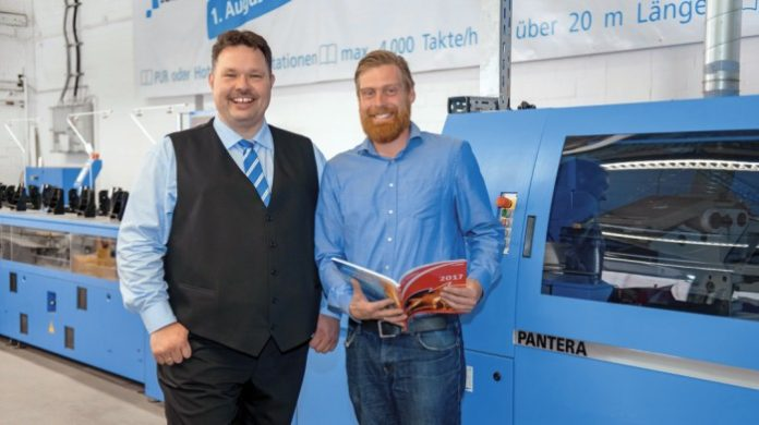PieReg Prepared For New Challenges Following Muller Martini Installation