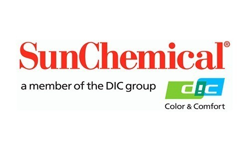Sun Chemical showcasing solutions for credit and laminated cards.