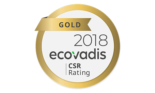 Konica Minolta receives third consecutive EcoVadis Gold Level Recognition Medal.