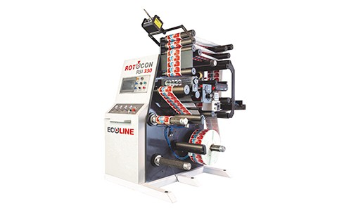 ROTOCON demonstrating label production environment.