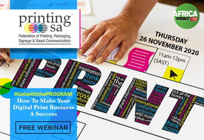 Free Webinar: Be Inspired To Thrive, Disrupt And Elevate Digital Print