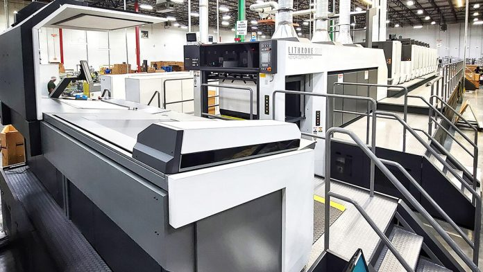 Komori Press Chosen For Its Packaging Capabilities