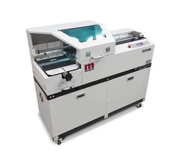 Morgana Binding Machine Installation Enhances Printing Service