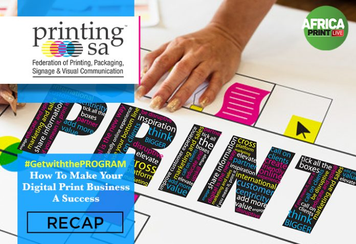 Printing SA Hosts Free Webinar On How To Make Your Digital Print Business A Success