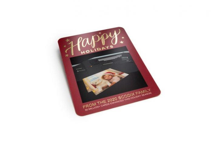 Scodix Reports Record Number Of Digitally Enhanced Printed Holiday Cards