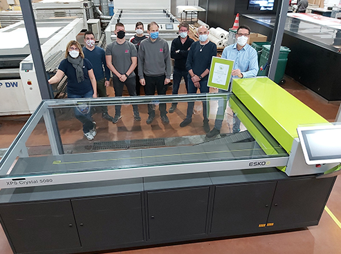 Esko Announces First Business To Achieve Plate Making Certification Under New Programme