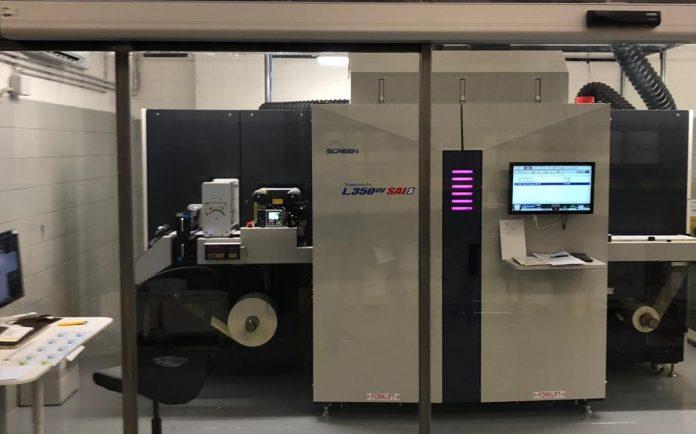 Italian Company Is World's First Digital Label Printer To Use Screen's SAI Technology