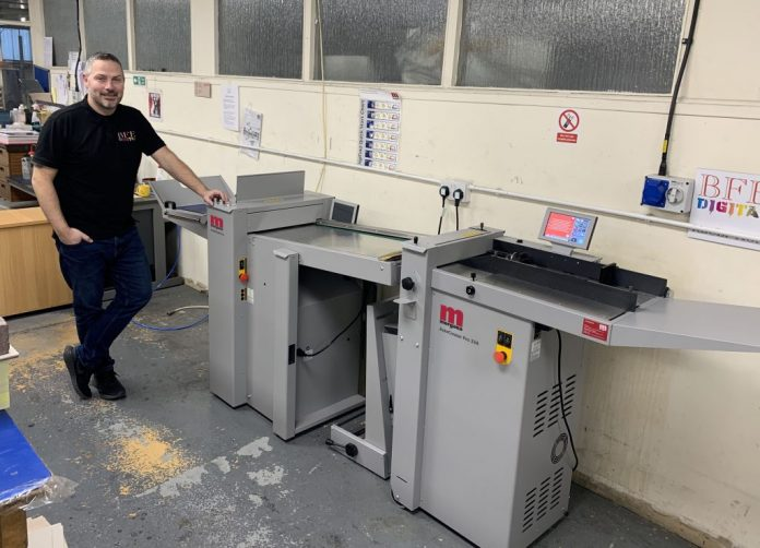 Morgana Folding And Guillotine Solutions Increases Business Capacity