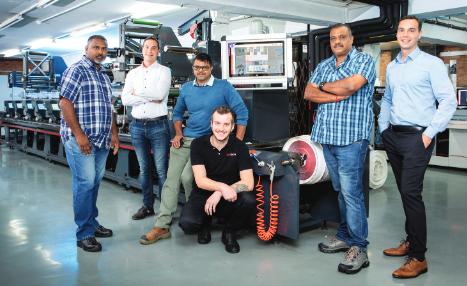 ROTOCON Installs Flexo Printing Press And Platemounter At Durban Label Converter