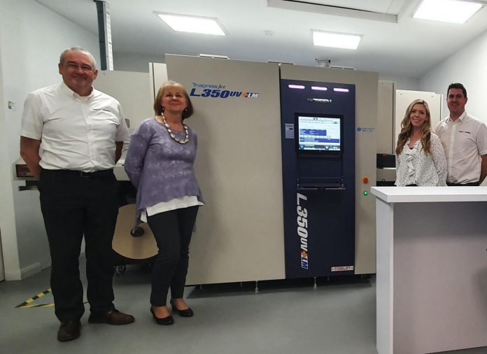 Business Increases Productivity With Screen Labelling Solution