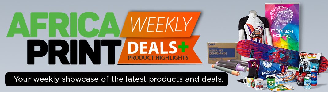 Africa Print weekly deals and product highlights