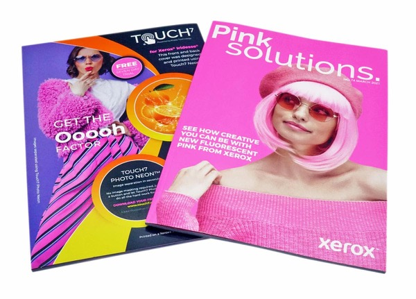 Color-Logic And Xerox Enhance Magazine Covers With Special Effects