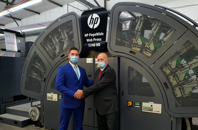 HP Announces First Installation Of Inkjet Press In Africa