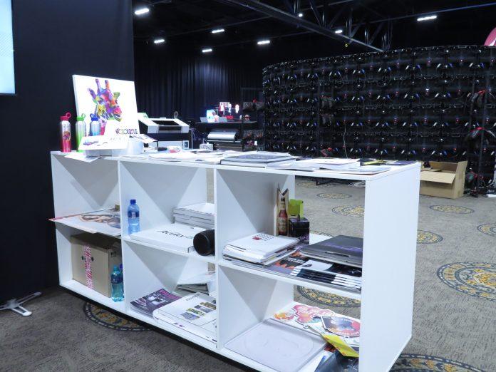 Fujifilm Displays Printed Samples At Africa Print Expo