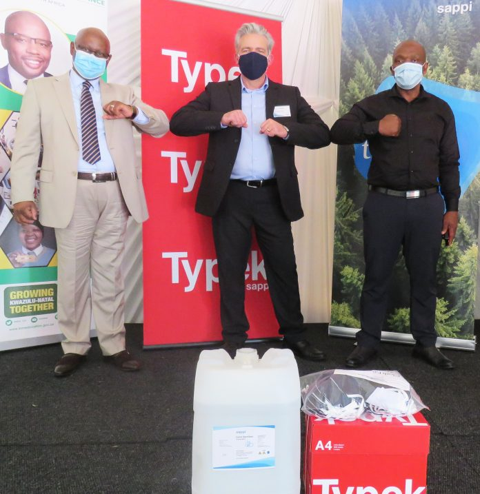 Sappi Donates Paper And Other Essential Products