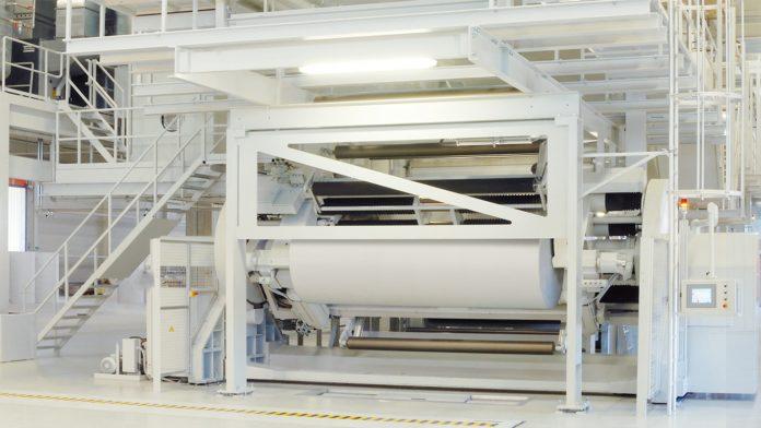 BOBST Central Cylinder Flexo Printing Press Sets New Liner Board Printing Record