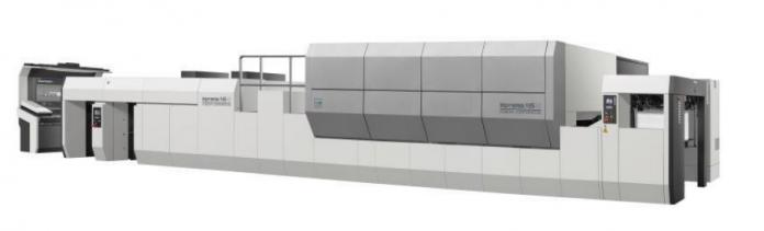 Komori Introduces Sheetfed Nanographic Printing System
