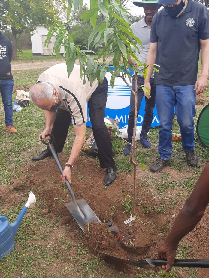 Konica Minolta South Africa And Partner Continue Greening Areas Across South Africa