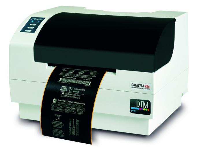 DTM Print Announces New Laser Label Marking System